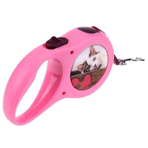 Automatic Retractable Dog Leash For Easy Gripping 3M - Harris & Bains Pet Shop