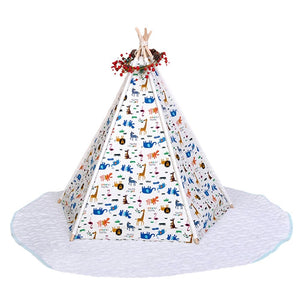 Pet Teepee Tent For Dog Or Cat - Harris & Bains Pet Shop