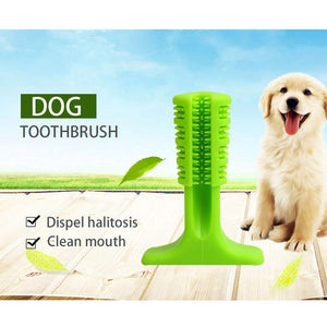 Pet toothbrush, soft silicone pet home cleaning - Harris & Bains Pet Shop