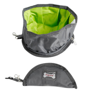 Collapsible Pet Travel Bowl For Dog And Cat Waterproof - Harris & Bains Pet Shop