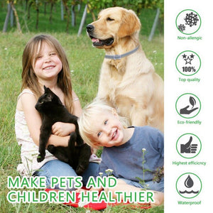 Pro Guard Flea And Tick Collar For Dogs Pets Professional - Harris & Bains Pet Shop