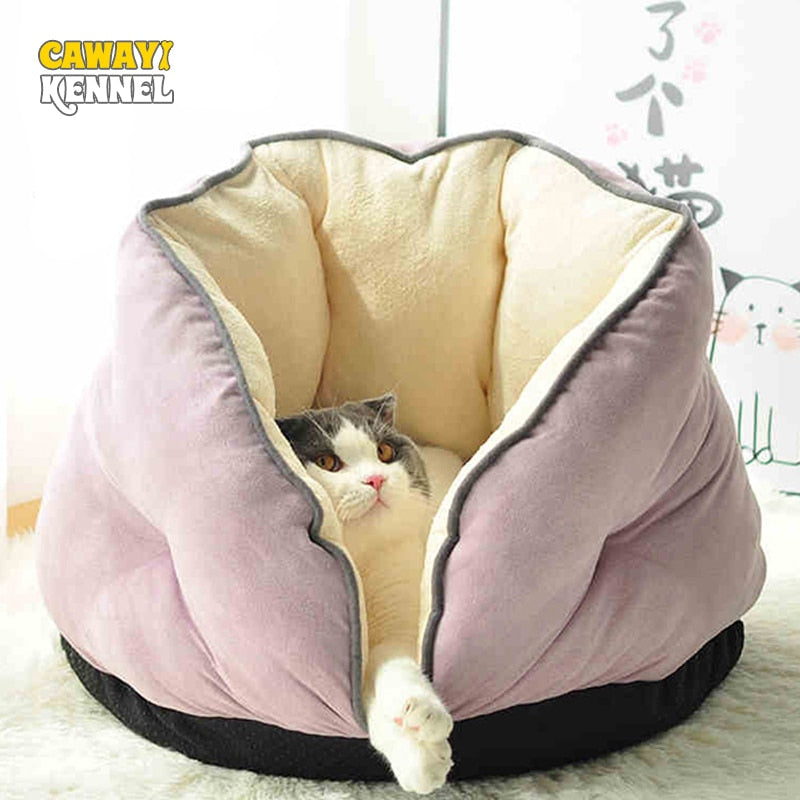 CAWAYI Cosy Dog/Cat Bed - Harris & Bains Pet Shop