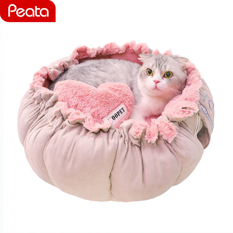 Princess Cat/Dog Sofa Bed - Harris & Bains Pet Shop