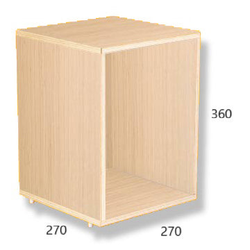 Brickbox Oak Small