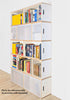 Brickbox XL - 2 Wide x 6 levels Tall bookshelf
