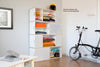 Brickbox XL - 2 Wide bookshelf