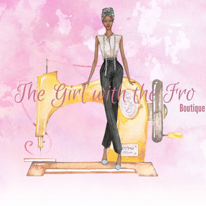 "Get to know the person behind ""The Girl With The Fro Boutique""."