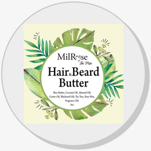 Men Hair & Beard Butter - Reina Organica