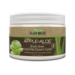 Taliah Waajid Green Apple & Aloe Nutrition Hold Me Down! Gelle 12oz - Reina Organica