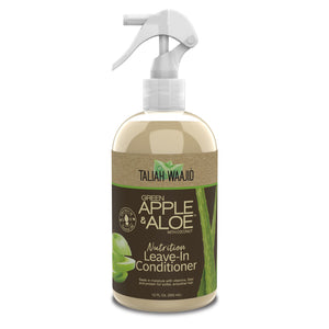 Taliah Green Apple & Aloe Nutrition Leave-In Conditioner 12oz - Reina Organica