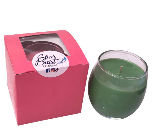 Patchouli and Amber Candle