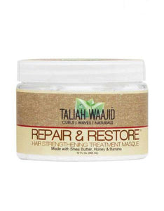 Taliah Waajid Repair & Restore Treatment Masque 12oz - Reina Organica