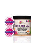 Alikay Naturals Honey and Sage Deep Conditioner 8oz - Reina Organica