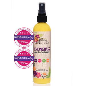 Alikay Naturals Lemongrass Leave In Conditioner 8oz - Reina Organica