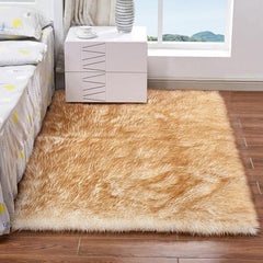 Luxury Faux Fur Rug For Bedroom
