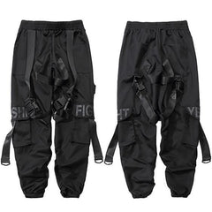 Jogger Buckle Cargo Pants