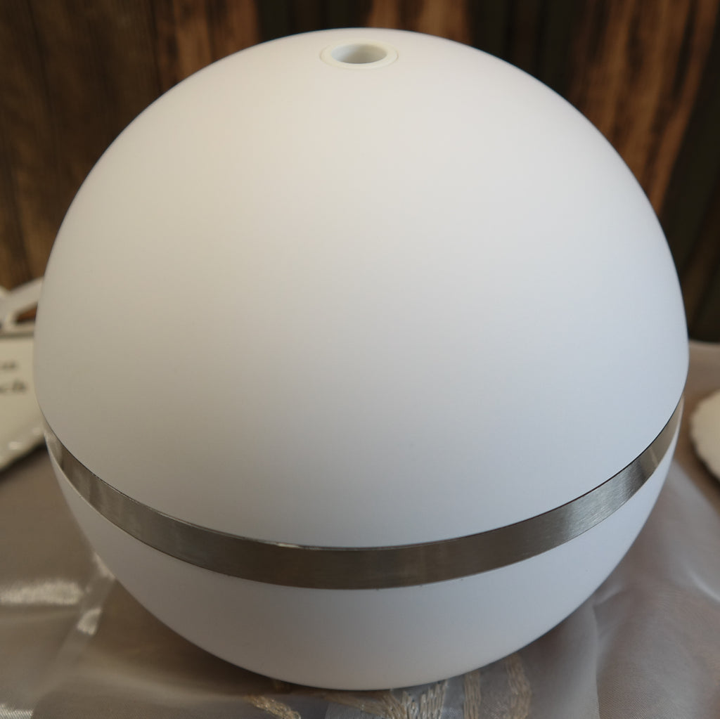 Aroma Diffuser Kugel weiss