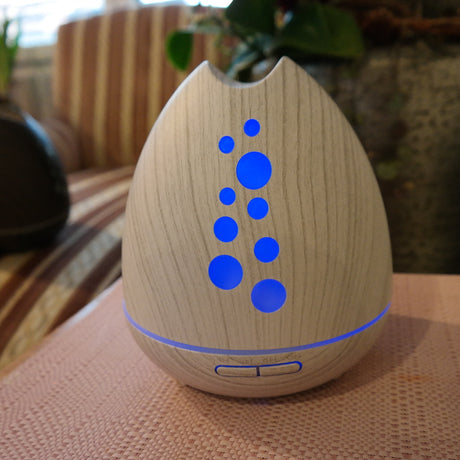 Aroma Diffuser Inspiration Holz weiss