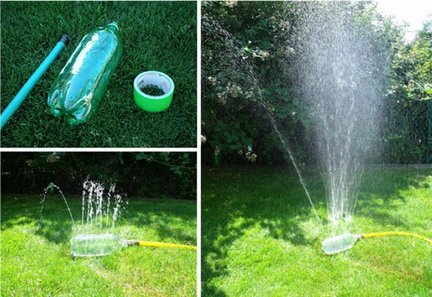 19 - Recycle Plastic Bottle Garden Sprinkler Hose - FOSH