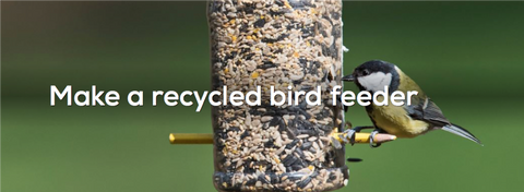 1 - Recycled Bird Feeder - FOSH
