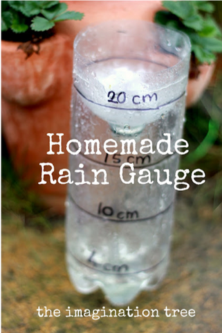 36 - Recycle Plastic Bottle Outside Homemade Rain Gauge - FOSH