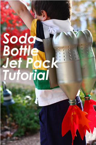 37 - Homemade Soda Bottle Jet Pack - FOSH
