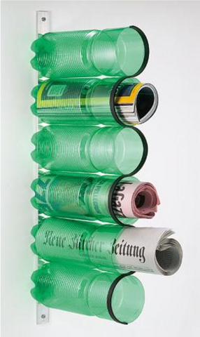 48 - Recycle Plastic Bottle Magazine Holder - FOSH