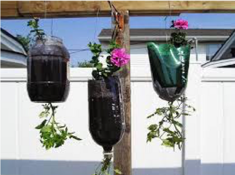 7 - Plastic Bottle Hanging Basket - FOSH