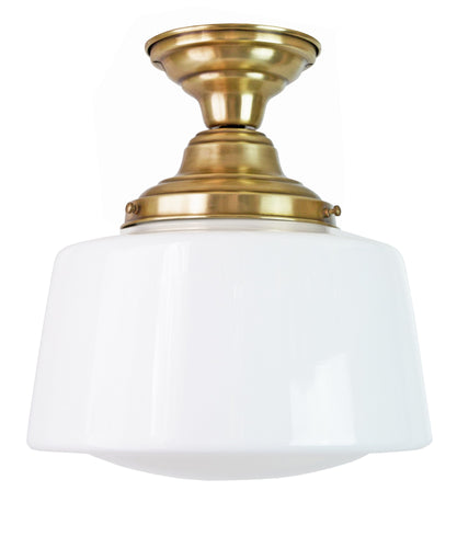 Drum Schoolhouse Ceiling Fixture, 12