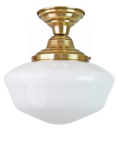 Traditional Schoolhouse Ceiling Fixture, 12