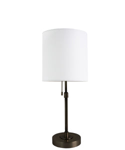 Annapolis Short Table Lamp, Bronze