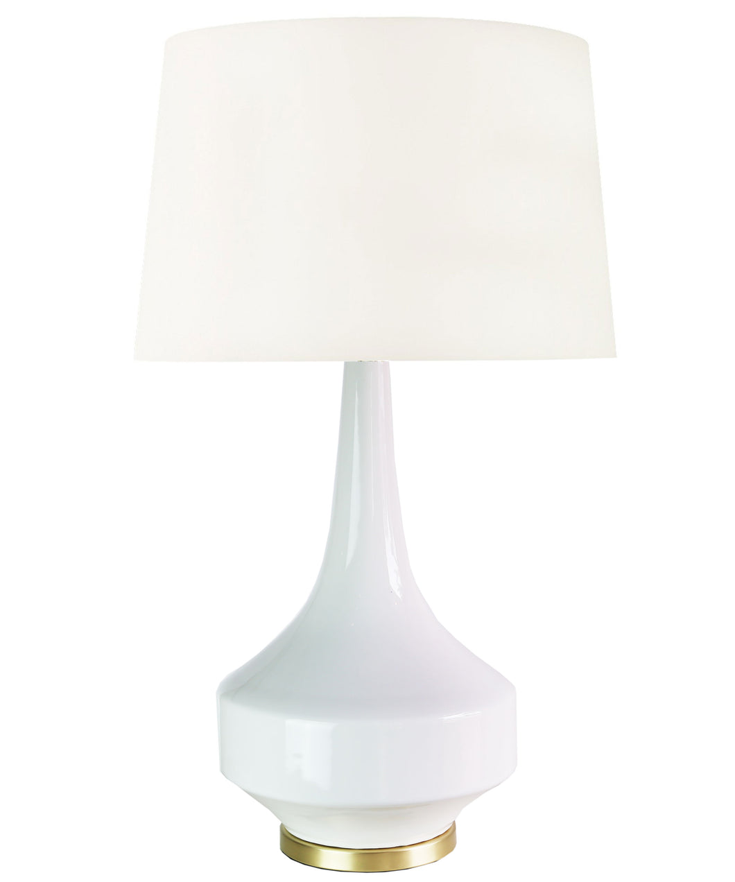 Anderson Table Lamp, White