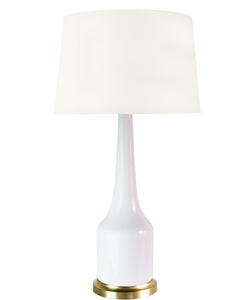 Charlie Table Lamp, White
