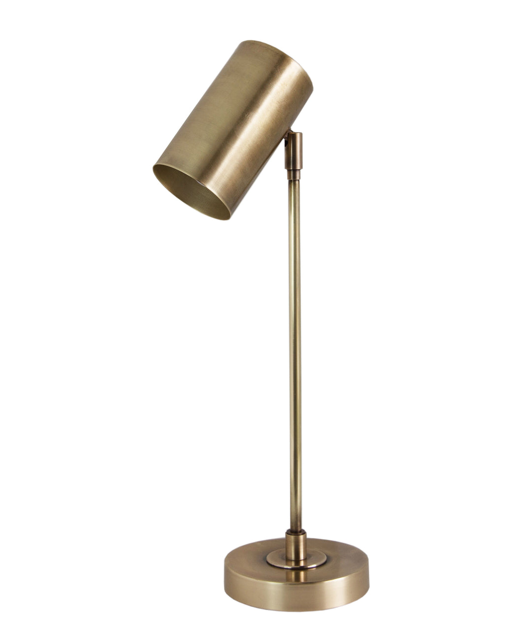 Dexter Task Lamp, Antique Brass