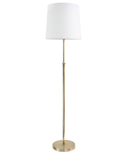 Greenwich Adjustable Floor Lamp, Brass