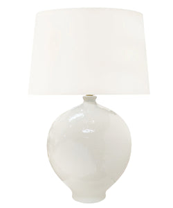 Peyton Table Lamp, White