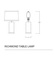 Richmond Table Lamp, Black