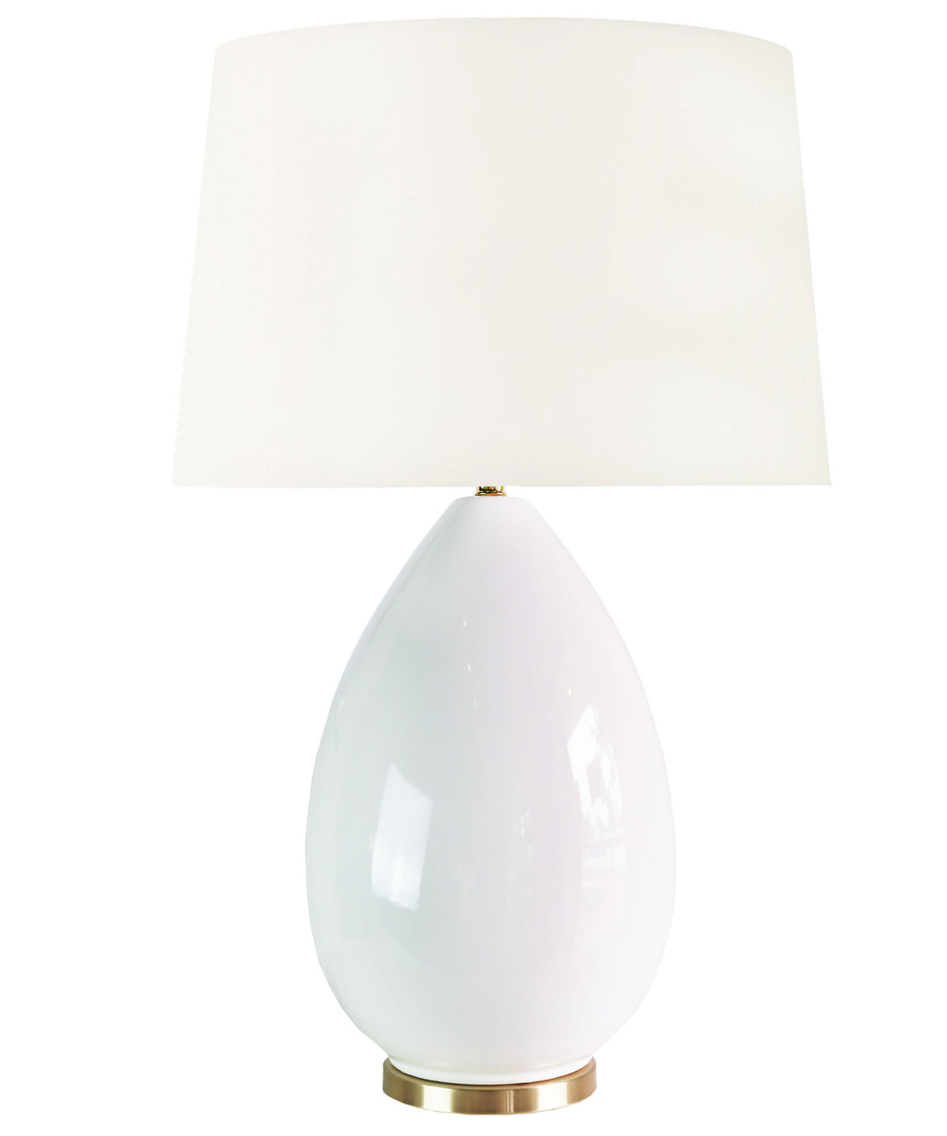 Savannah Table Lamp, White