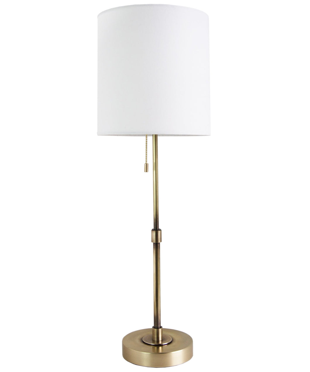 Annapolis Tall Table Lamp, Antique Brass