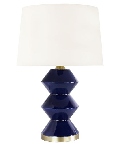Derby Table Lamp, Navy