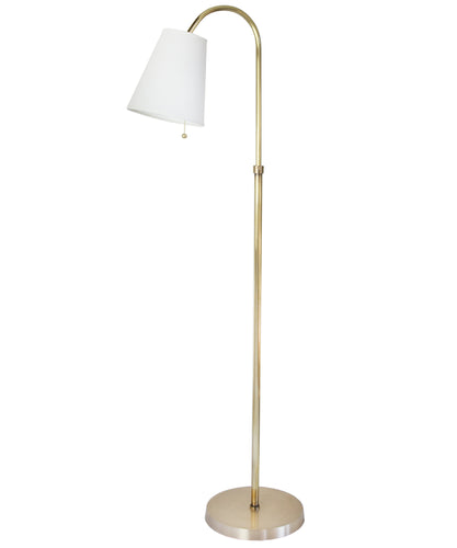 Blaire Adjustable Floor Lamp, Brass