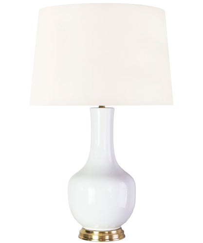 Georgia Table Lamp, White
