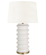 Richmond Table Lamp, White