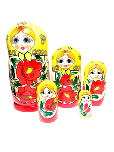 Traditional Design Nesting Doll (5 Pcs)