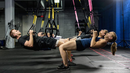 10 Essinetial Suspension Training Exercises For Total Body Workout