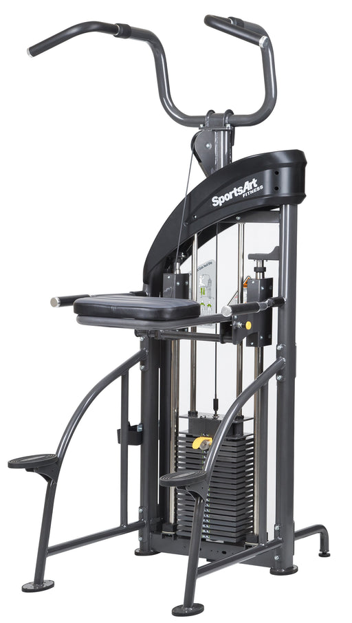 Sports Art DF207 Assisted Chin-Up/Tricep Dip-Selectorized Strength-NEW AND USED GYM EQUIPMENT/ GYMS DIRECT USA