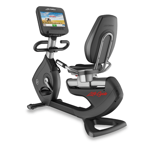 Life fitness Discover SE Reumbent Bike-Bikes & Cycles-NEW AND USED GYM EQUIPMENT/ GYMS DIRECT USA