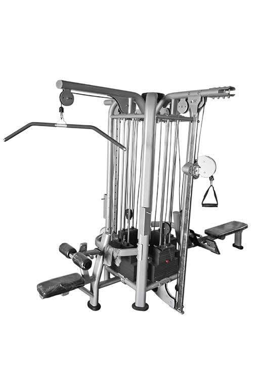 Muscle D Deluxe 4 Station Jungle-Functional Training-NEW AND USED GYM EQUIPMENT/ GYMS DIRECT USA