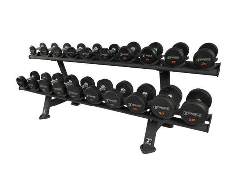 2 Tier Dumbbell Rack by Torque Fitness