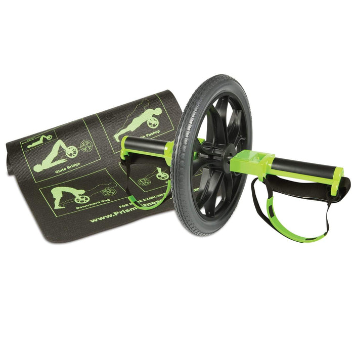 Smart Core Wheel With Mat By Prism Fitness